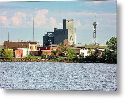 Downtown Baker Metal Print