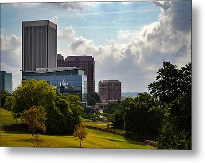Downtown Beauty Metal Print