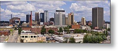 Downtown Birmingham Skyline Metal Print by Jeremy Woodhouse