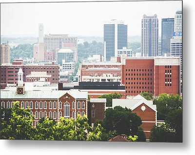 Metal Print featuring the photograph Downtown Birmingham - The Magic City by Shelby Young