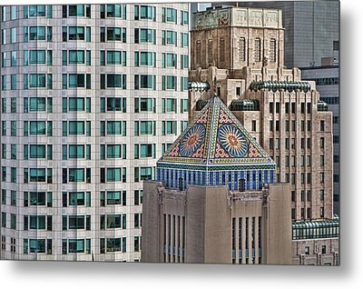 Metal Print featuring the photograph Downtown Blend by Kim Wilson