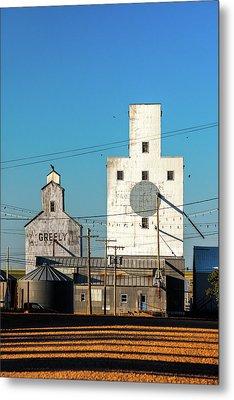 Downtown Joplin Metal Print