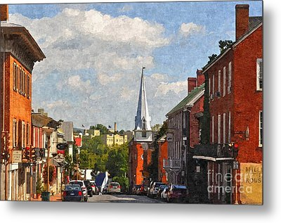 Downtown Lexington 3 Metal Print by Kathy Jennings
