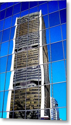 Downtown Montreal Metal Print by Juergen Weiss