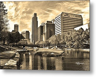 Downtown Omaha Nebraska Metal Print