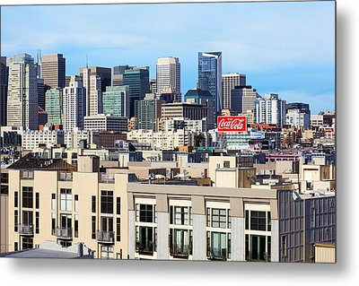 Downtown San Francisco Metal Print by Kelley King