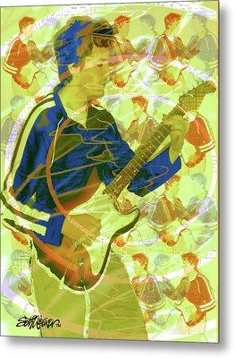 Dr. Guitar Metal Print by Seth Weaver