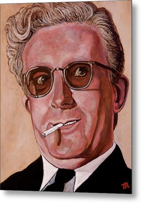 Dr Strangelove 2 Metal Print by Tom Roderick