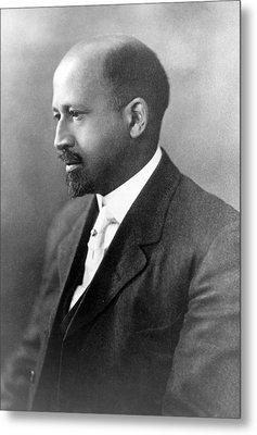 Dr. W.e.b. Du Bois, African American Metal Print by Everett