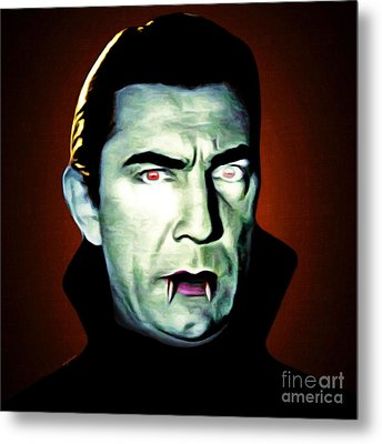 Metal Print featuring the photograph Dracula 20170414 Square by Wingsdomain Art and Photography