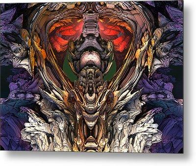 Dragaon Heart Temple Metal Print