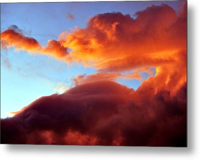 Dragon Cloud Metal Print