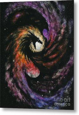 Dragon Galaxy Metal Print