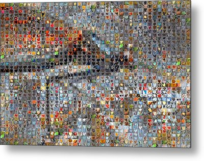 Dragonfly Metal Print by Boy Sees Hearts