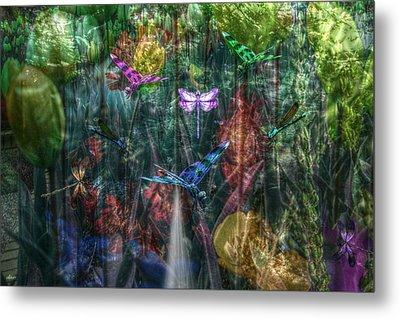 Dragonfly Dream Metal Print