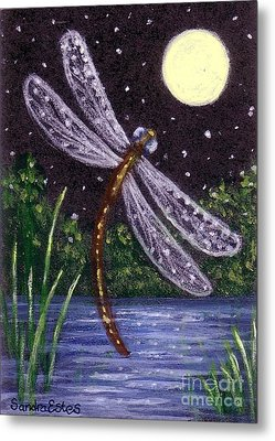 Dragonfly Dreaming Metal Print