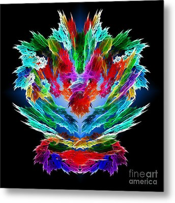 Dragon's Breath Metal Print by Methune Hively