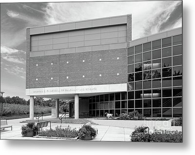 Drake University Cline Hall Of Pharmacy And Science Metal Print by University Icons