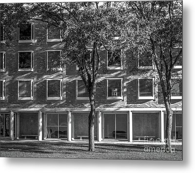 Drake University Goodwin Kirk Residence Hall Metal Print by University Icons