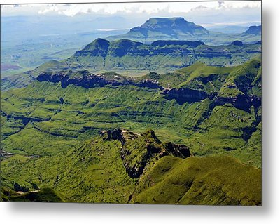 Drakensberg Mountains Metal Print