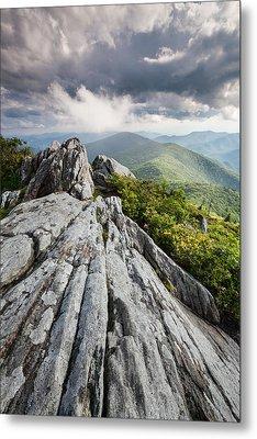 Dramatic Blue Ridge Mountain Scenic Metal Print by Mark VanDyke