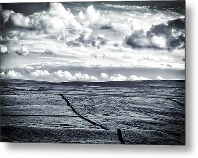 Metal Print featuring the photograph Dramatic Landscape  by RKAB Works