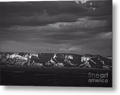 Metal Print featuring the photograph Dramatic Late Afternoon Light by Ron Chilston