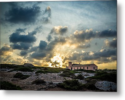 Dramatic Sunset Metal Print by Alfio Finocchiaro