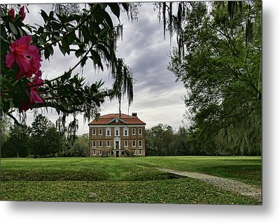 Drayton Hall II Metal Print