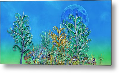 Dream A Little Dream Metal Print by Betsy Knapp