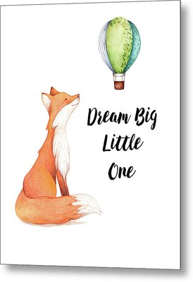 Metal Print featuring the digital art Dream Big Little One by Colleen Taylor