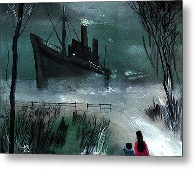 Dream Boat Metal Print by Anil Nene