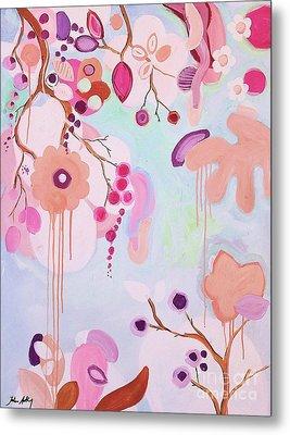 Dream Flowers Metal Print
