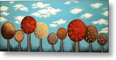 Dream Grove Metal Print by Graciela Bello