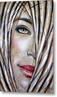 Dream In Amber 120809 Metal Print by Selena Boron