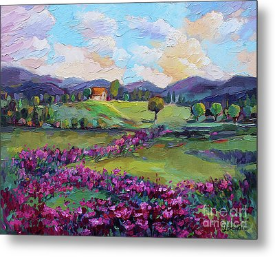 Metal Print featuring the painting Dream In Color by Jennifer Beaudet