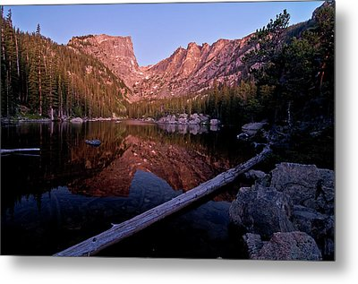 Metal Print featuring the photograph Dream Lake by Gary Lengyel