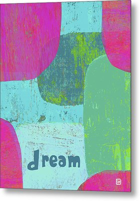 Metal Print featuring the painting Dream by Lisa Weedn