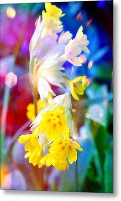 Dream Of Yellow Flowers Metal Print