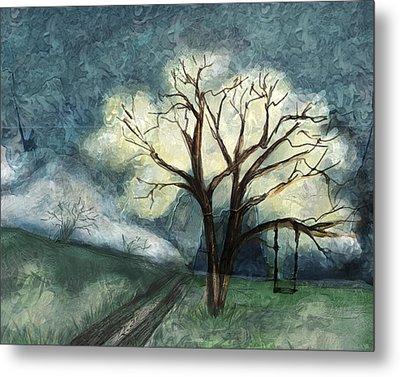 Dream Tree Metal Print by Annette Berglund