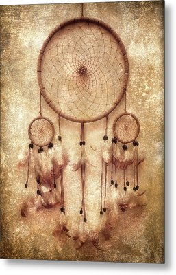 Dreamcatcher Metal Print by Wim Lanclus