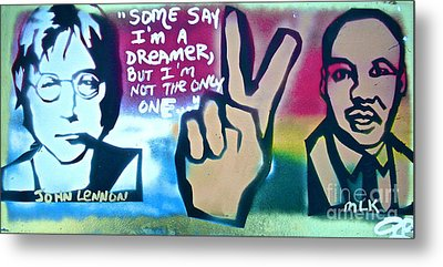 Dreamers Metal Print by Tony B Conscious