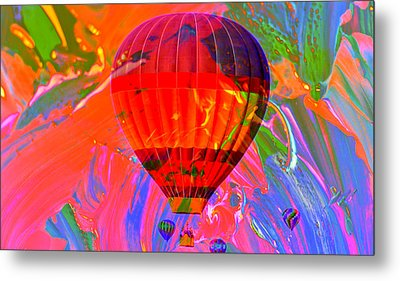 Metal Print featuring the photograph Dreaming Across The Sky by Jeff Swan