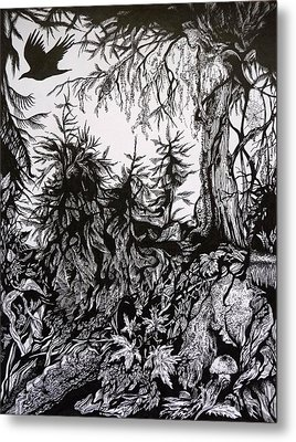 Dreaming Alaska.part One Metal Print by Anna  Duyunova