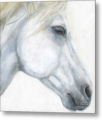 Sacred Stallion Metal Print by Brandy Woods