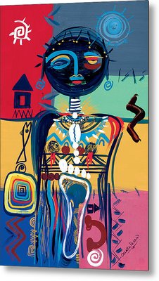 Dreaming Of Africa Metal Print by Oglafa Ebitari Perrin