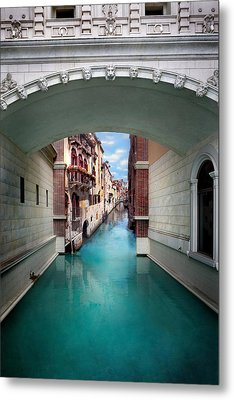 Dreaming Of Venice Metal Print by Az Jackson