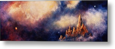 Metal Print featuring the painting Dreaming Sedona by Marina Petro