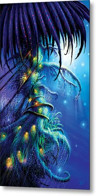 Dreaming Tree Metal Print by Philip Straub