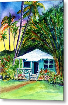 Metal Print featuring the painting Dreams Of Kauai 2 by Marionette Taboniar